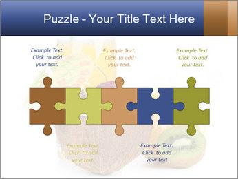 Tropic Breakfast PowerPoint Template - Slide 41