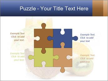 Tropic Breakfast PowerPoint Template - Slide 43