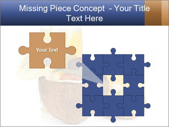 Tropic Breakfast PowerPoint Template - Slide 45