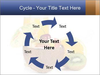 Tropic Breakfast PowerPoint Template - Slide 62