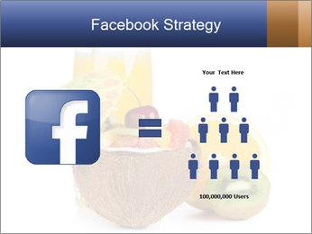 Tropic Breakfast PowerPoint Template - Slide 7