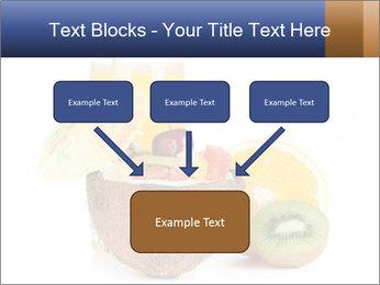 Tropic Breakfast PowerPoint Template - Slide 70