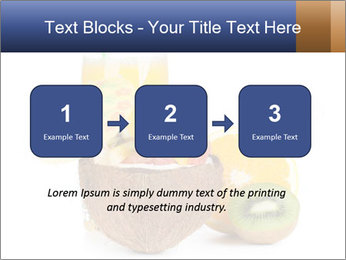 Tropic Breakfast PowerPoint Template - Slide 71