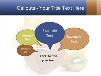 Tropic Breakfast PowerPoint Template - Slide 73