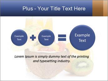 Tropic Breakfast PowerPoint Template - Slide 75
