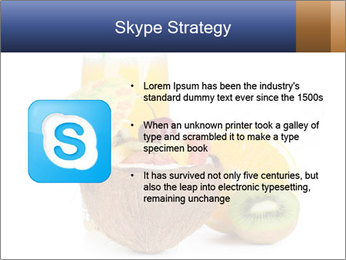 Tropic Breakfast PowerPoint Template - Slide 8