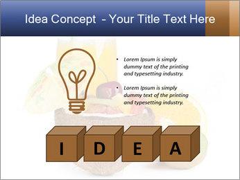Tropic Breakfast PowerPoint Template - Slide 80