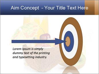 Tropic Breakfast PowerPoint Template - Slide 83