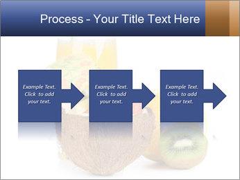Tropic Breakfast PowerPoint Template - Slide 88