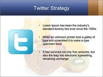 Tropic Breakfast PowerPoint Template - Slide 9
