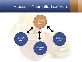 Tropic Breakfast PowerPoint Template - Slide 91
