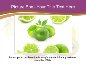 Coconut with Fruit Salad PowerPoint Template - Slide 16
