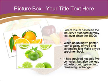 Coconut with Fruit Salad PowerPoint Template - Slide 20