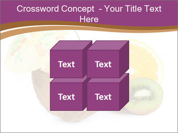 Coconut with Fruit Salad PowerPoint Template - Slide 39