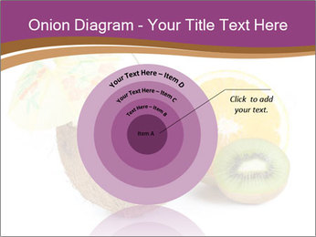 Coconut with Fruit Salad PowerPoint Template - Slide 61