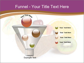 Coconut with Fruit Salad PowerPoint Template - Slide 63