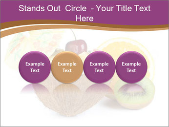 Coconut with Fruit Salad PowerPoint Template - Slide 76