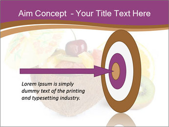 Coconut with Fruit Salad PowerPoint Template - Slide 83