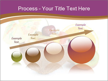 Coconut with Fruit Salad PowerPoint Template - Slide 87