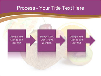 Coconut with Fruit Salad PowerPoint Template - Slide 88