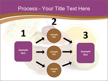 Coconut with Fruit Salad PowerPoint Template - Slide 92