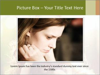 Pretty Girl in Summer Light PowerPoint Template - Slide 16