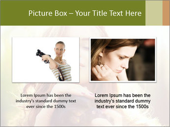 Pretty Girl in Summer Light PowerPoint Template - Slide 18