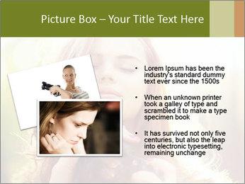 Pretty Girl in Summer Light PowerPoint Template - Slide 20