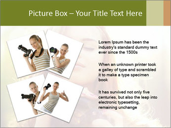 Pretty Girl in Summer Light PowerPoint Template - Slide 23