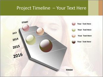 Pretty Girl in Summer Light PowerPoint Template - Slide 26