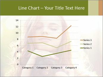 Pretty Girl in Summer Light PowerPoint Template - Slide 54