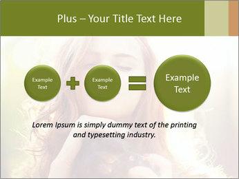 Pretty Girl in Summer Light PowerPoint Template - Slide 75