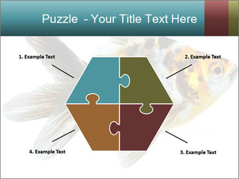 Golden Fish with Unusual Ornament PowerPoint Template - Slide 40