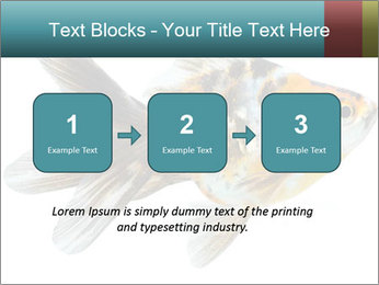 Golden Fish with Unusual Ornament PowerPoint Template - Slide 71
