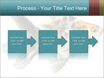 Golden Fish with Unusual Ornament PowerPoint Template - Slide 88