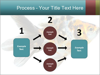 Golden Fish with Unusual Ornament PowerPoint Template - Slide 92