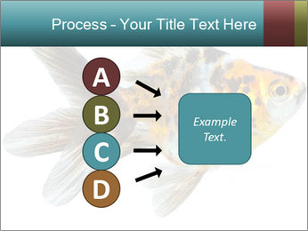 Golden Fish with Unusual Ornament PowerPoint Template - Slide 94