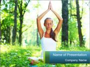 Outdoors Meditation PowerPoint Templates