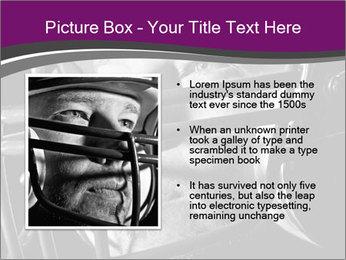 Football Player in Helmet PowerPoint Templates - Slide 13