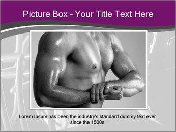 Football Player in Helmet PowerPoint Templates - Slide 15
