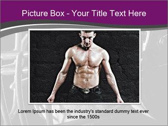 Football Player in Helmet PowerPoint Templates - Slide 16