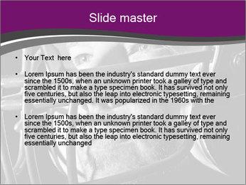 Football Player in Helmet PowerPoint Templates - Slide 2