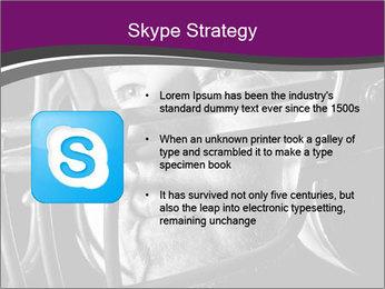 Football Player in Helmet PowerPoint Templates - Slide 8