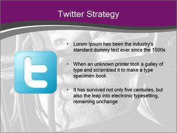 Football Player in Helmet PowerPoint Templates - Slide 9