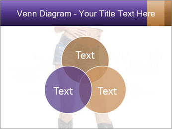 Young Woman in Denim Shorts PowerPoint Template - Slide 33