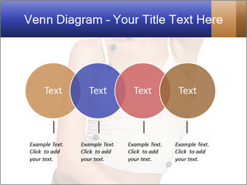 Denim Woman in White Top PowerPoint Templates - Slide 32