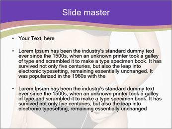 Slimming Woman PowerPoint Template - Slide 2