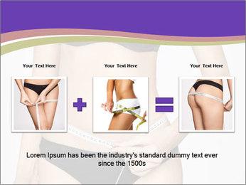 Slimming Woman PowerPoint Template - Slide 22