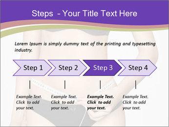 Slimming Woman PowerPoint Template - Slide 4
