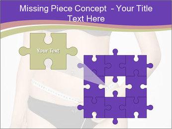 Slimming Woman PowerPoint Templates - Slide 45